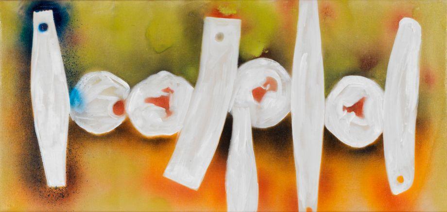 David Smith. Untitled, 1964. Spray enamel on canvas. © Estate of David Smith/Licensed by VAGA, New York, NY