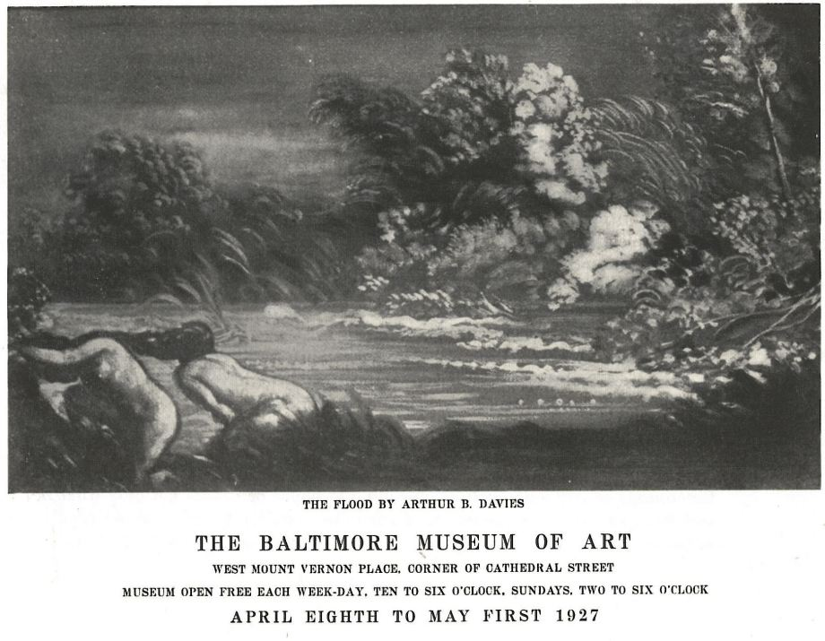 Brochure for An Exhibition of Expressionist Painters from the Experiment Station of the Phillips Memorial Gallery, The Baltimore Museum of Art, April 8-May 1, 1927.