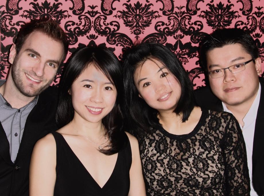 The Formosa Quartet (Stefan Milenkovich, Ru-Pei Yeh, Jasmine Lin, Che-Yen Chen)