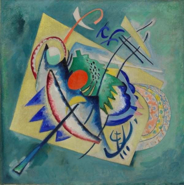 Wassily Kandinsky, Red Oval, 1920 28 1/8 x 28 in. Solomon R. Guggenheim Museum, New York, 51.1311. © 2011 Artists Rights Society (ARS), New York / ADAGP, Paris.