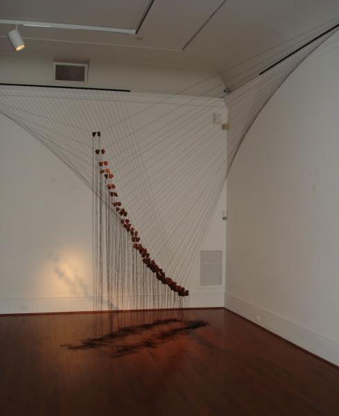 Barbara Liotta, Icarus, 2009, in Main Gallery. Photo by Sarah Osborne Bender.