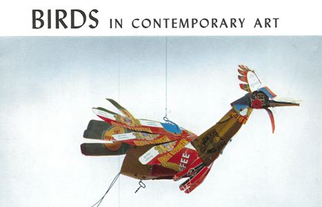 Catalog for Birds in Contemporary Art, 1966. From Phillips Collection Archives.