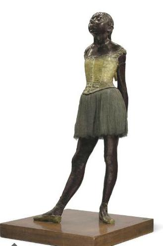 Petite danseuse de quatorze ans  Edgar Degas (1834-1917) Executed in wax circa 1879-1881 and cast in bronze at a later date