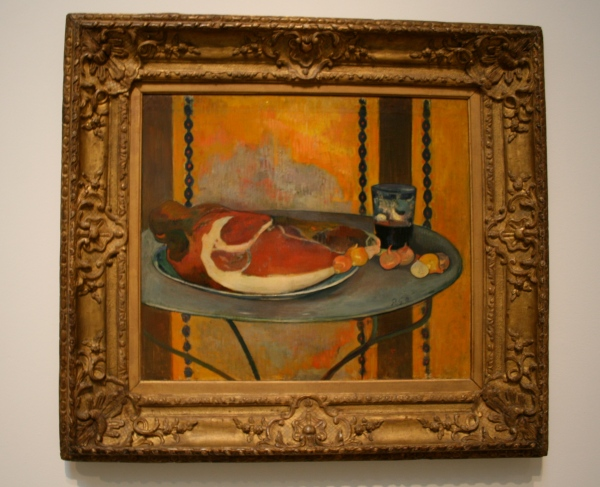 Paul Gauguin, The Ham, 1889, Oil on canvas; 19 3/4 x 22 3/4 in. Acquired 1951. Photo: Claire Norman