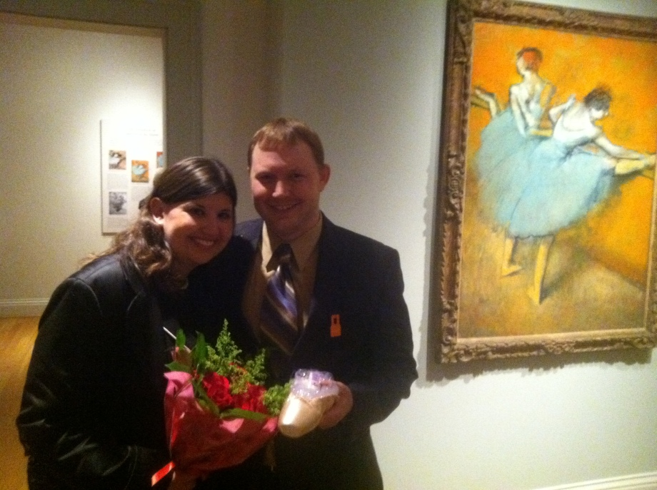 Jill Zeignefus and Eric Brafford. Photo: Margaret Collerd