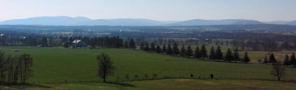 Gettysburg landscape by Jess Stephens.