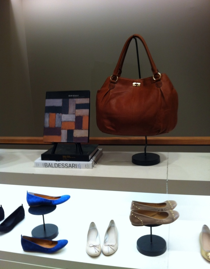 Display at J Crew store in Washington, DC